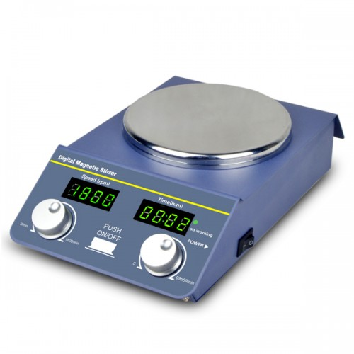Digital Magnetic Stirrer With Lcd Display And Timer Bt