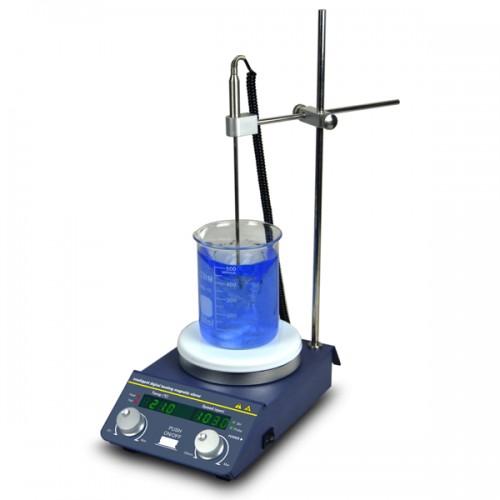 Magnetic Stirrer Hot Plate, Digital Display | BT Lab Systems