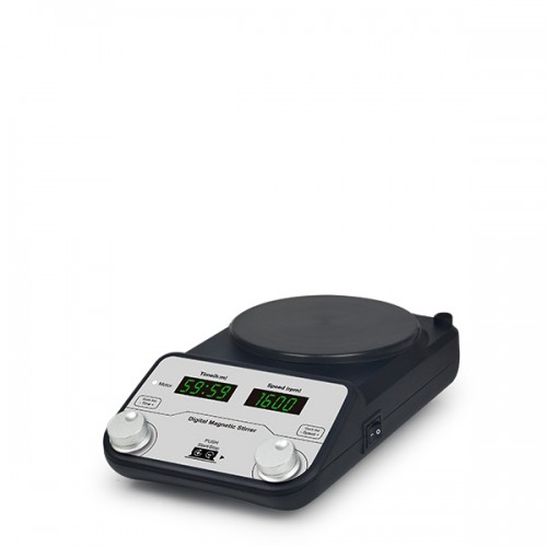 Digital Magnetic Stirrer, 200-1600rpm, Timer