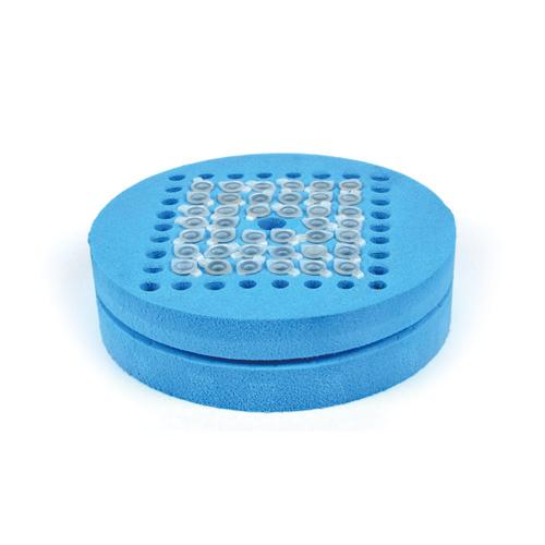 Foam tube holder for 0.2 ml tubes for Mini Mixer