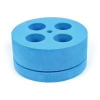 Foam tube holder for 50 ml tubes for Mini Mixer